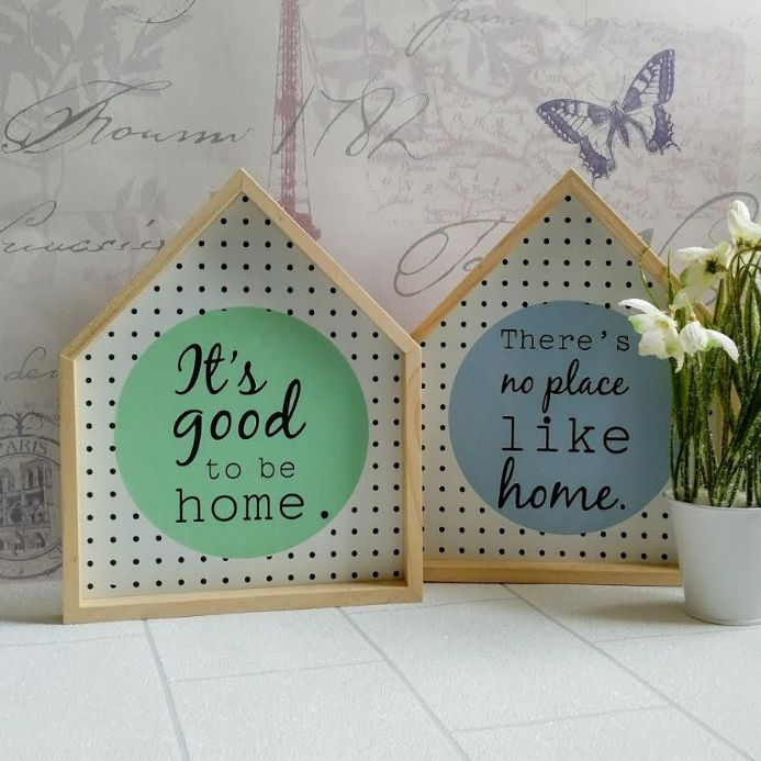 50% off Lundby House Shaped Framed Signs